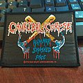 """Cannibal Corpse - Patch - Cannibal Corpse Official """"Hammer Smashed Face"""" Patch"""