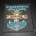 """Testament - Patch - Official 1988 Testament """"Disciples Of The Watch"""" Patch"""