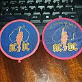 "Official AC/DC Mid 70's ""Let There Be Rock"" Australian Tour Patch Set"