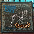 """Official 1993 Gorguts """"The Erosion Of Sanity"""" Patch"""
