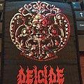 """Official Vintage 1990 Deicide """"Deicide"""" Patch"""