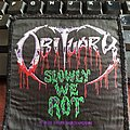 "Official Obituary ""Slowly We Rot"" Patch"