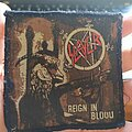 """Slayer - Patch - Official 1985 Slayer """"Reign In Blood"""" Patch"""