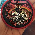 "Official Vintage 1978 Rainbow ""Rising"" Patch"