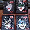 Official Late 70's KISS Patch Set
