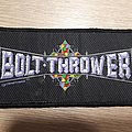 Official Bolt Thrower Patch