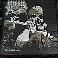 """Morbid Angel - Patch - Official 1990 Morbid Angel """"Leading The Rats/Blessed Are The Sick"""" Patch"""
