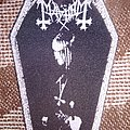 Mayhem Euronymous coffin patch