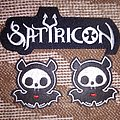 Satyricon old logo patch and a couple of ghosts