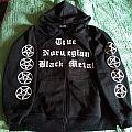Darkthrone 'Panzerfaust' zippered hooded top