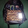 Darkthrone Leopard print backpack