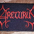 Arctic red logo patch