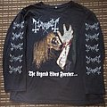Mayhem 'The Legend Lives Forever - I Love Transylvania' longsleeve