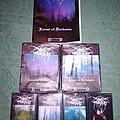 Darkthrone 'Forest of Darkness' cassette box