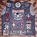Dissection 'Anti Cosmic Metal of Death' vest in progress