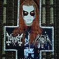 Morbid - Patch - Mayhem/Morbid Dead invented cross patch