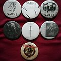 Sarke and Gift of Gods pins