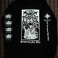 Darkthrone 'Preparing for War' reprint longsleeve