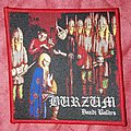 Burzum - Patch - Burzum 'Dauði Baldrs' Red border patch
