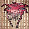 Darkthrone logo patch medium size