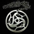 Isengard - Pin / Badge - Isengard/Bathory Triskele necklace 2