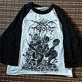 Darkthrone - TShirt or Longsleeve - Darkthrone baseball cropped shirt