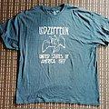 Led Zeppelin USA 1977 shirt