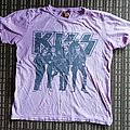 Kiss pink girlie shirt