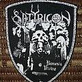 Satyricon - Patch - Satyricon 'Nemesis Divina' patch