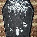 Darkthrone - Patch - Darkthrone band coffin patch