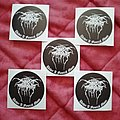 Darkthrone 'Under A Funeral Moon' stickers  Other Collectable