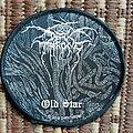 Darkthrone 'Old Star' circular patch