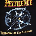Vintage Original Pestilence - Testimony Of The Ancients/Presence Of The Pest 1992 Tourshirt