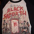 Black Sabbath - TShirt or Longsleeve - Vintage ORIGINAL Black Sabbath - The Mob Rules Baseball Jersey (signed by Dio)