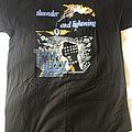 Thin Lizzy Thunder and lightning tour reprint  TShirt or Longsleeve