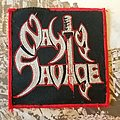 Nasty Savage woven Patch