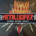 Metalucifer Heavy Metal Drill strip Patch
