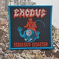 Exodus Fabulous Disaster woven (bootleg) Patch