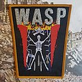 W.A.S.P. s/t woven Patch