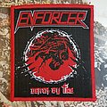 Enforcer Death by Fire woven Patch