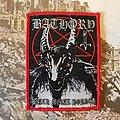 Bathory Black Metal Hordes woven  Patch