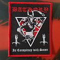 Bathory In Conspiracy woven Patch
