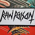 Raw Poison woven logo Patch