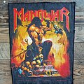 Manowar - Patch - MANOWAR Agony and Ecstasy backpatch