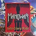 Manowar - Patch - MANOWAR Into Glory Ride original (red border)