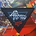 Air Raid Across the Line woven Patch