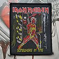 Iron Maiden - Patch - Iron Maiden Somewhere in Time woven