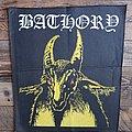 Bathory - Patch - Bathory yellow goat bp