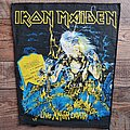 Iron Maiden Live After Death backpatch original(?)