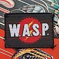 W.A.S.P. - Patch - W.A.S.P. sawblade logo original